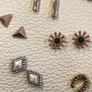 Lucky Brand Jewelry - Lucky Brand Earrings New on Leather 7 Pairs
